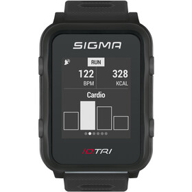 SIGMA SPORT iD.TRI Multi-Sport Watch Set, black